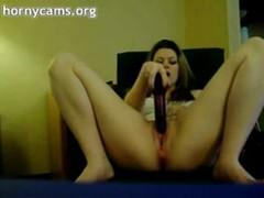 Gorgeous Babe Going Wild On Webcam