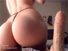 Big ass MILF playing with her toys (ANAL) (cam) bit.ly/angelicbutt