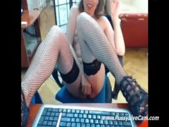 Camgirl Loves Riding On Toys And Live Omegle chat Same Time