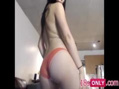 Horny Asian Jap Korean Babe Dancing To a Webcam - 18sOnly.com