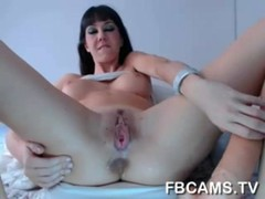 Cute WebCam Girl With Big Tits Fingering Herself visit - www.fbcams. tv
