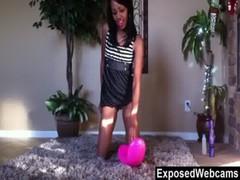 Innocent Black Teen Webcam Show