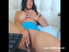 Cam Girl With Huge Boobs Dildo Masturbation - ChatMyPussy.com