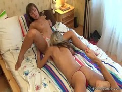 Getting Down And Dirty With These Teen Lesbian Hotties