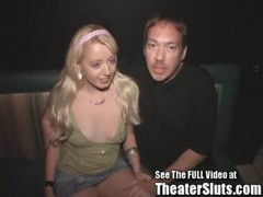 Smokin Slut Fucked in Porn Theater