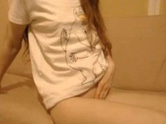 Omegle Sweet teen Masturbating on Cam